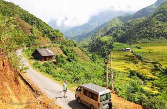 Day 6: Paso – Lai Chau Old Town (B, L, D) (Cycle 90 km)